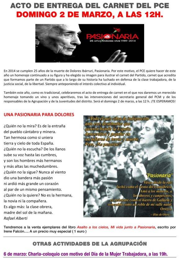 Microsoft Word - CONVOCATORIA ENTREGA DE CARNET2.doc